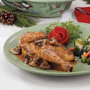 Elegant Cornish Hens Recipe