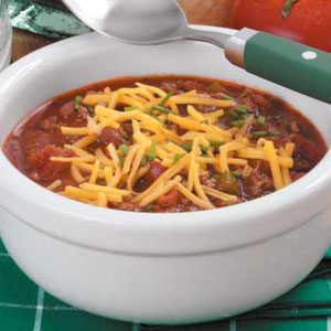 Zippy Slow-Cooked Chili Recipe