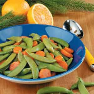 Pea Pod Carrot Medley Recipe