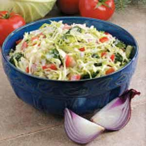 Vegetable Slaw Recipe