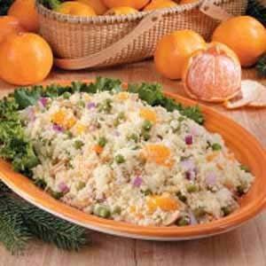 Mandarin Couscous Salad Recipe
