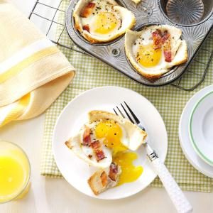 Maple Toast and Eggs Recipe
