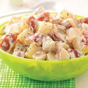 Creamy Lime Potato Salad Recipe