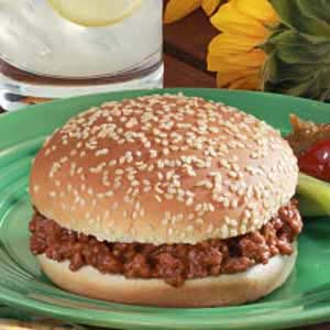 Sloppy Joes Sandwiches Recipe