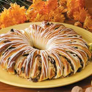 Ginger-Pear Coffee Cake Recipe