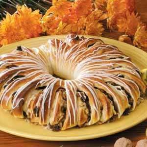 Ginger-Pear Coffee Cake Recipe