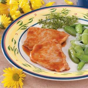 Flavorful Sweet and Sour Pork Chops