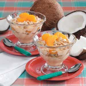 Orange Crunch Yogurt Recipe