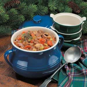 Slow-Cooked Vegetable Beef Stew Recipe