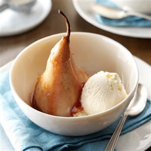 Burgundy Pears Recipe