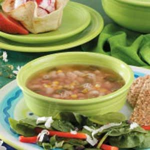 Pork 'n' Bean Soup Recipe