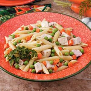 Ranch Turkey Pasta Dinner Recipe