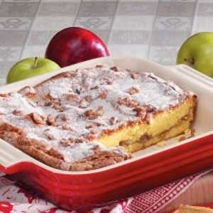 Cinnamon Apple Coffee Cake Recipe