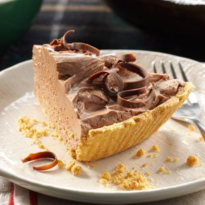 Chocolate Cheesecake Pie Recipe