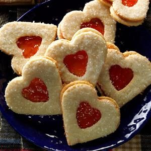 Sweetheart Coconut Cookies