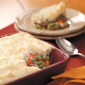 Simple Ground Beef Shepherd's Pie Recipe