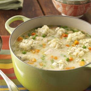Traditional Chicken Dumpling Soup Recipe
