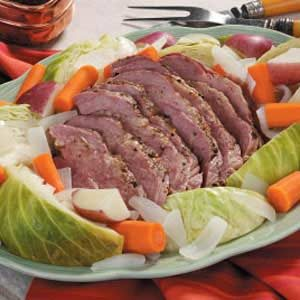 Easy Corned Beef 'n' Cabbage Recipe