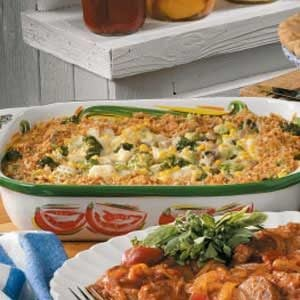 Vegetable Bake Recipe