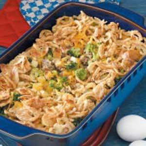 Sausage and Broccoli Bake Recipe