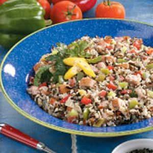 Wild Rice Jambalaya Recipe