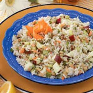 Walnut Rice Salad Recipe