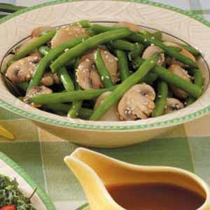 Sesame Green Beans 'n' Water Chestnuts Recipe