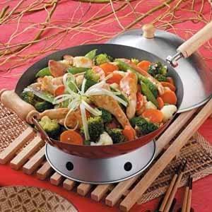 Vegetable Chicken Stir-Fry Recipe