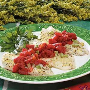 Simple Italian Orange Roughy Recipe