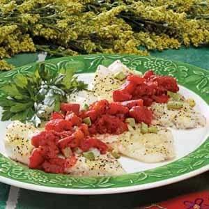 Simple Italian Orange Roughy Recipe