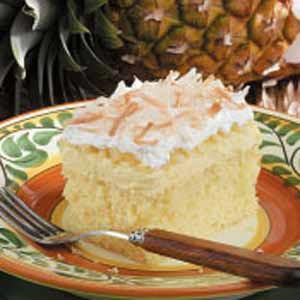 Hawaiian Wedding Cake Recipe