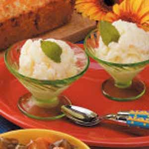Pineapple Buttermilk Sherbet Recipe