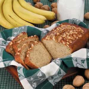 Maple Walnut Banana Bread Recipe
