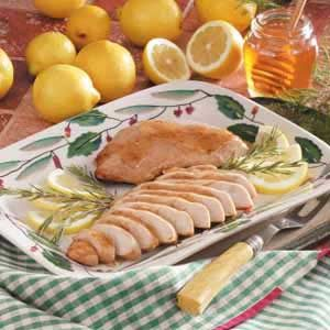 Lemon Honey Turkey Recipe
