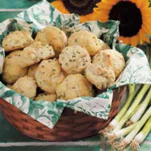 Green Onion Biscuits Recipe