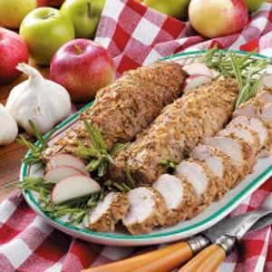 Rosemary Roasted Pork Tenderloin Recipe