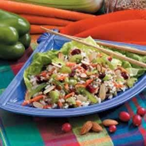 Asian Bulgur Rice Salad Recipe