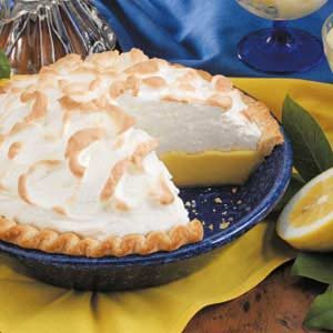 Creamy Buttermilk Lemon Pie Recipe
