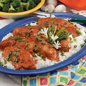 Chicken With Paprika Cream