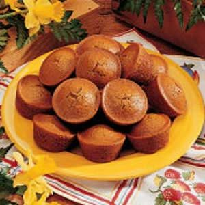 Snappy Ginger Muffins Recipe