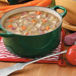 Chicken Vegetable Soup with Potatoes Recipe
