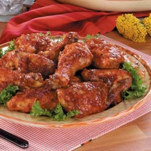 Honey Barbecued Chicken Recipe