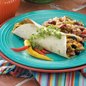 Corny Chicken Wraps Recipe