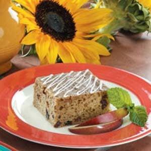 Yogurt Applesauce Cake Recipe