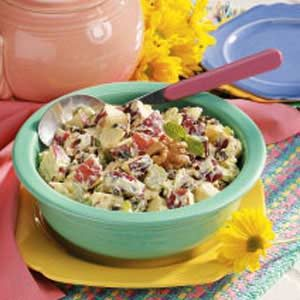 Raisin-Walnut Waldorf Salad Recipe