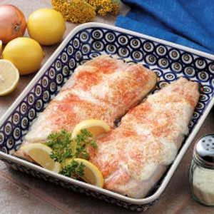 Baked Trout Fillets Recipe