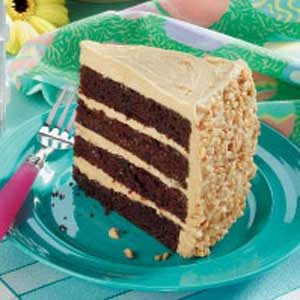 Peanut Chocolate Cake Recipe