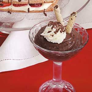 Dark Chocolate Pudding Recipe