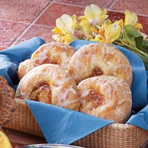 Peachy Cheese Danish Recipe