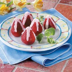 Special Stuffed Strawberries Recipe